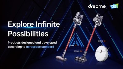 CES 2021: Dreame Leading Cleaning Technology for Smart Home