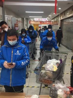 Dada Now riders in Shijiazhuang