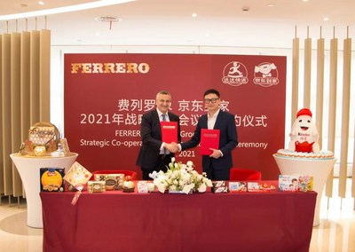 The Strategic Co-operation Signing Ceremony of Ferrero and Dada Group