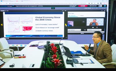 張志豪先生在Central Banking「數字時代央行的數據管理」學術座談會上就數據驅動的政策制定發表講話