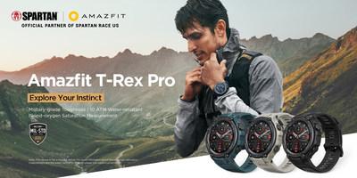 Amazfit T-Rex Pro:一款軍規級別的可靠智能手錶