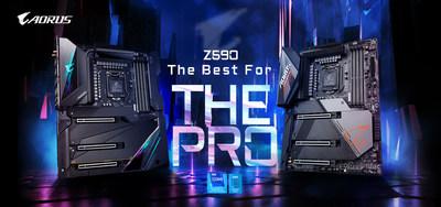 技嘉推出全新Z590系列主機板再添業績成長動能