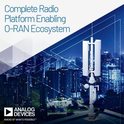 致能O-RAN生態系統的完整無線電平台