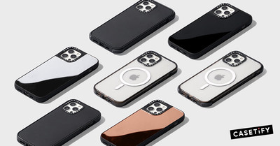 Apple's iPhone 12 series gets a colorful shout-out with CASETiFY's all new protective accessories that snap on effortlessly to the entire MagSafe ecosystem.