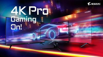4K大軍壓競!技嘉AORUS 4K戰術型電競螢幕全球開賣