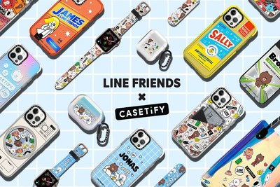 The globally-adored BROWN & FRIENDS characters are finding their way to LINE FRIENDS' first-ever customizable tech accessory collaboration by CASETiFY.
