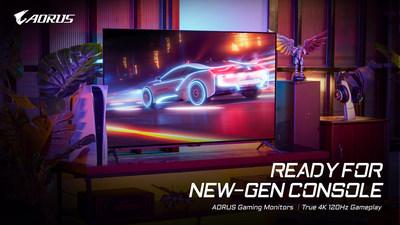 4K專業電競跨大步 技嘉4K電競螢幕完整支援新世代家機