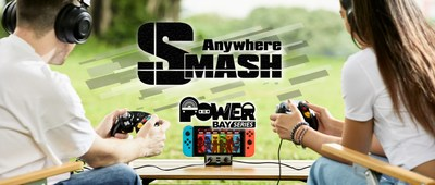 SMASH Anywhere! Brook Power Bay which is a Switch dock designed for Smash bros. players