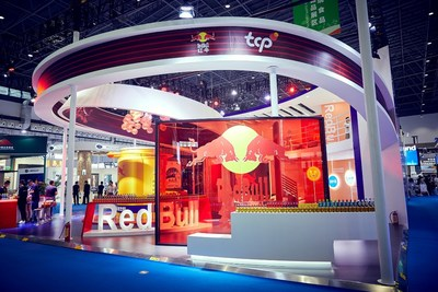 TCP's booth at the first China International Consumer Products Expo