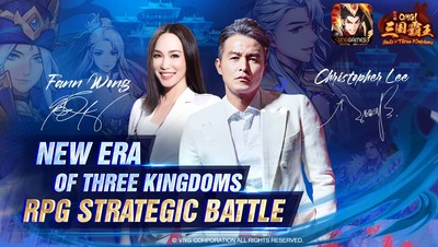 Christopher Lee and Fann Wong become the ambassadors of OMG! Gods of Three Kingdoms in Malaysia, Singapore, and Vietnam.