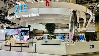 中興通訊亮相2021年世界移動通信大會