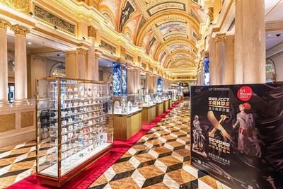 「金沙陶瓷計劃 – 無限超越」國際當代陶瓷藝術展正式於澳門威尼斯人開放予公眾觀賞。