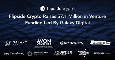 Flipside Crypto Raises $7.1 Million in Venture Funding Led By Galaxy Digital Ventures