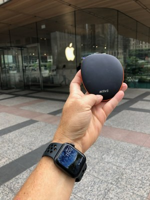 Activ5 Smart Fitness Device Now Available in Select Apple Stores Around the World