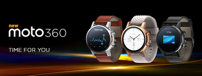 TIME FOR YOU - the new Moto 360