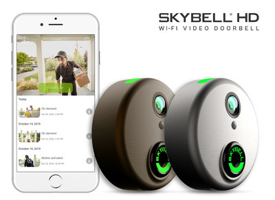 """SkyBell is a perfect solution for so many people. Moms love how SkyBell helps them manage who's home and keep their infant babies asleep during naptime by turning off the indoor chime. Seniors and individuals with special needs love the convenience of answering the door without getting up. Even kids love the SkyBell, using it to say """"hi"""" to their parents when they get home from school. The easy to use app let's you see who's at your door whether you're in the kitchen, at work or on the go!"""