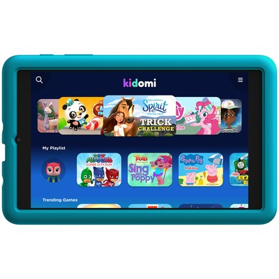 The Alcatel JOY TAB KIDS offers a fun and educational Android tablet experience for children