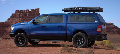 The Road to SEMA RAM 1500 received a Truck Gear by LINE-X or other aftermarket upgrade at each LINE-X franchise location on route between Huntsville, Ala. and Las Vegas leading into show. Project highlights how LINE-X franchises do much more than bedliners – they are emerging as one-stop-shops for a wide variety of upgrades and customizations.