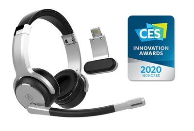 Rand McNally's ClearDryve 180 noise-cancelling, 2-in-1 headphones & headset named CES Innovation Awards Honoree for 2020