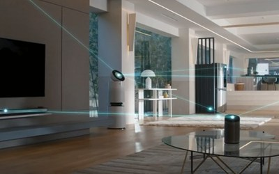 LG ThinQ incorporates advanced AI technologies to bring new intelligence to connected living through its data innovations.