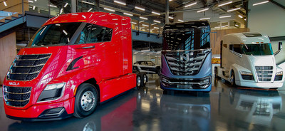 Nikola's Motor Company's commercial truck product portfolio includes the Nikola Two, Nikola Tre and Nikola One.  The company is headquartered in Phoenix.