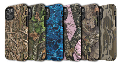 The Speck Presidio Inked Mossy Oak line includes six popular Mossy Oak patterns like Break-Up Country, Shadow Grass Blades and Bottomland.