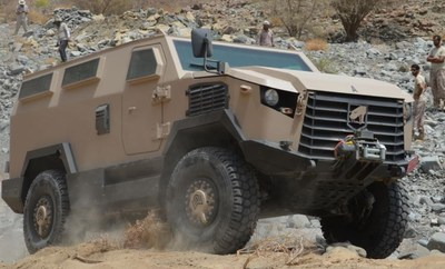 The MLS Viper represents the cutting edge of military vehicle technology designed, produced and supported in the region.