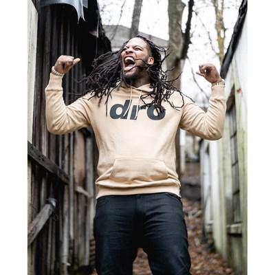 Waka Flocka rocking the classic DRO hoodie