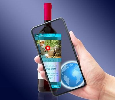 Etiquetas de vino de realidad aumentada en acción - Winerytale.