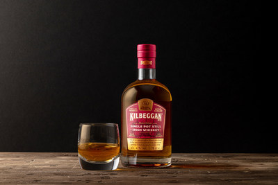 Kilbeggan Single Pot Still Irish Whiskey is double distilled, features a rare oats-based mash inspired by late-1800's recipes and is matured at the Kilbeggan Distillery, Ireland's oldest continually licensed distillery (photo credit: Beam Suntory).