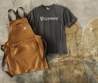 Guinness is helping those celebrating St. Patrick's Day to dress for the occasion with the new Guinness x Carhartt collaboration. United by the spirit of hard work and master craftsmanship, this collection includes everything from tees to hoodies to hats and more.