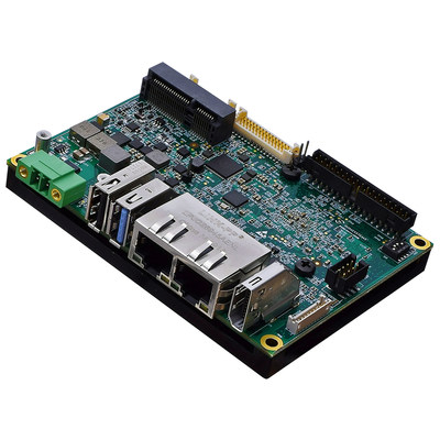 WINSYSTEMS' ITX-P-C444 industrial single board computer features the NXP i.MX8M applications processor, 4K UltraHD video, and low power processing.