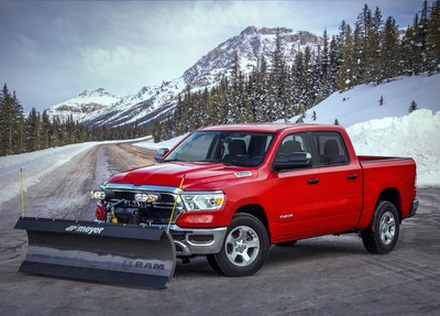 Ram Truck Introduces Snow Plow Prep Package at The Work Truck Show® in Indianapolis.