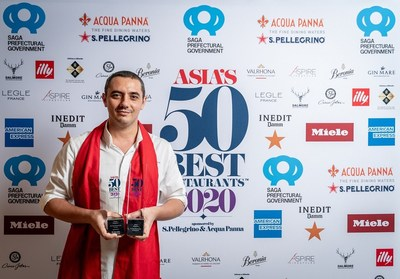 Odette in Singapore secures No.1 Spot in Asia's 50 Best Restaurants for second consecutive year.