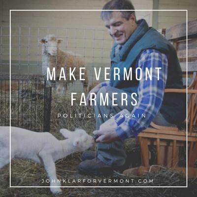Klar has a plan (and a lamb!)