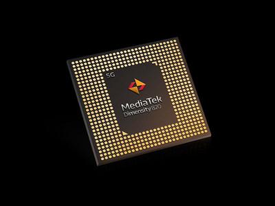 MediaTek Dimensity 820 5G chipset