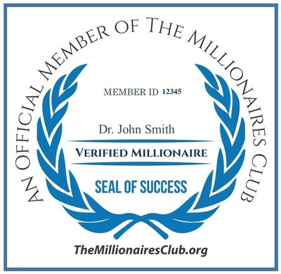 The Millionaires Club Members Seal of Success