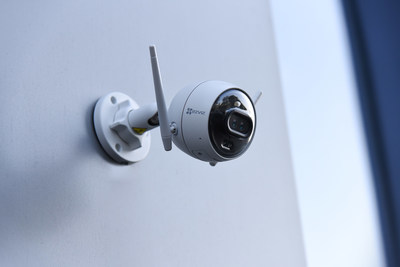 Dual-lens color night vision camera with person detection