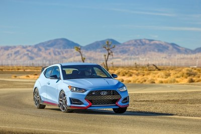 2021 Hyundai Veloster N Offers N Eight-Speed Wet Dual-Clutch Transmission