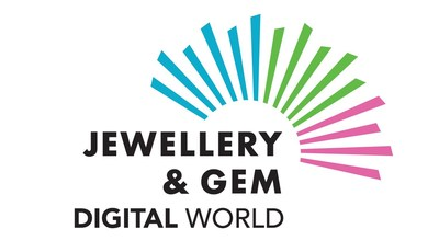 Jewellery & Gem Digital World Logo