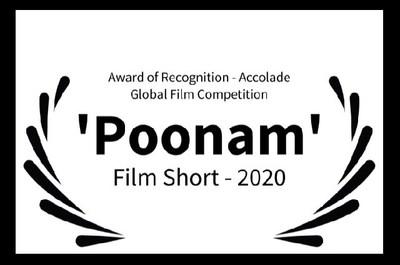 Award of Recognition - Film Short, The Accolade Global Film Festival, La Jolla, CA, USA