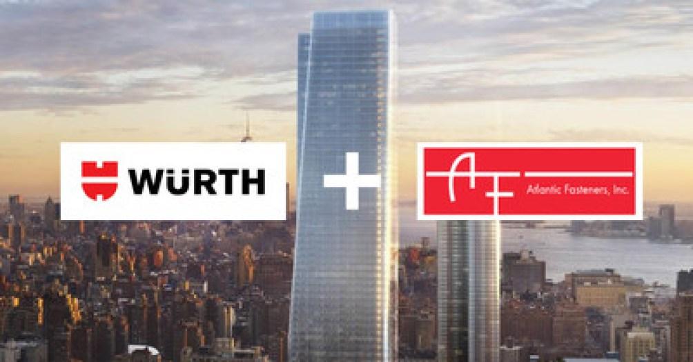 Wurth Acquires Atlantic Fasteners