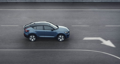 Volvo Cars launches new, pure electric Volvo C40 Recharge