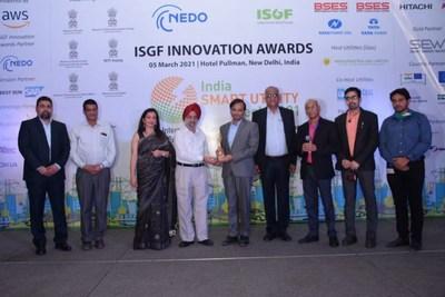 BRPL Team at IGSF Award Ceremony in New Delhi
