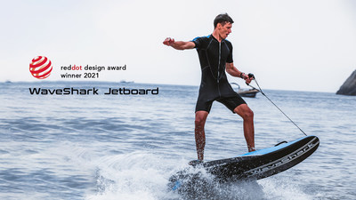 Award-winning Waveshark Jetboard earns 2021 Product Design Red Dot Award