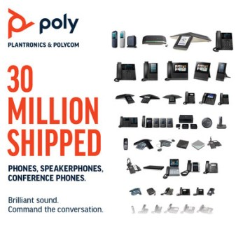 Poly's celebrates its legacy in audio innovation, and beautifully designed phones for mission critical calls.