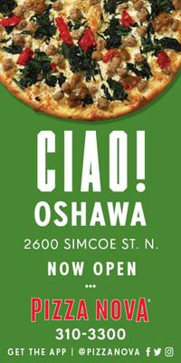 Pizza Nova opens a third location in Oshawa