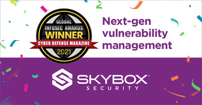 Selected by leading infosec experts, Skybox Security won best next-generation vulnerability management solution during RSA 2021.
