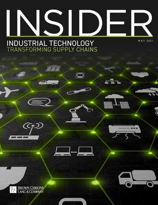 Organizations of all sizes are moving toward a digital supply chain, which is rapidly becoming the predominant distribution model — a shift accelerated by COVID-19 — according to an industry report released by the Industrial Technology investment banking team from Brown Gibbons Lang & Company (BGL).
