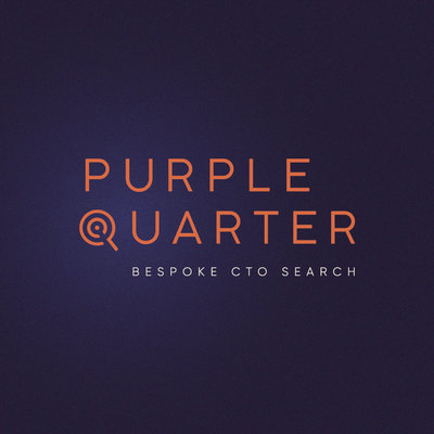 Purple Quarter Logo